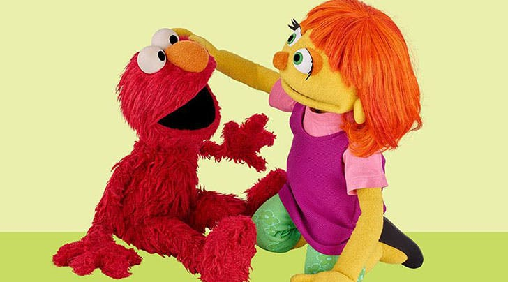 Meet Julia, a New Muppet with Autism on 'Sesame Street'