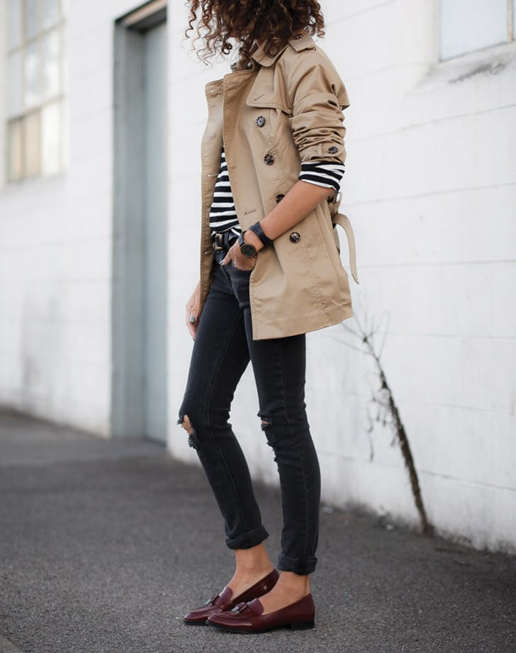 short fashion coat