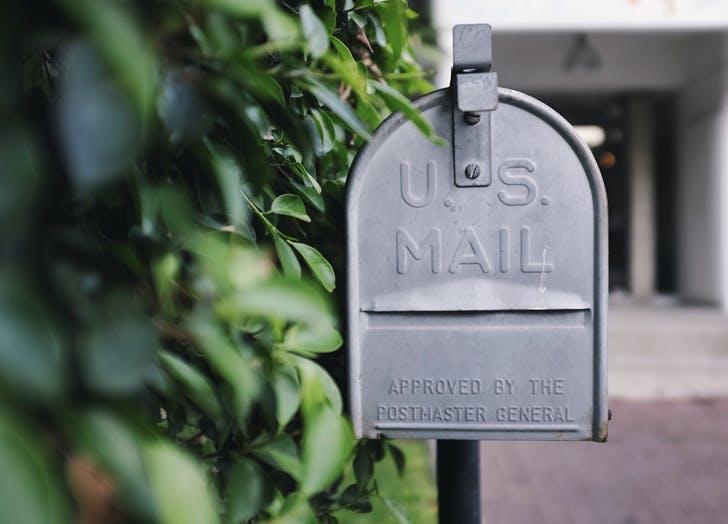 sort through mail