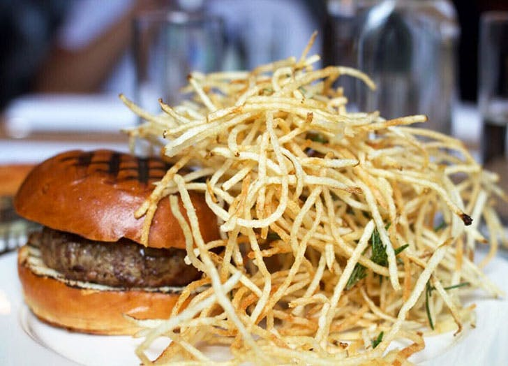 spotted pig shoestring best fries NY