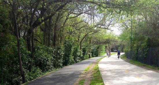 the katy trail dallas walks