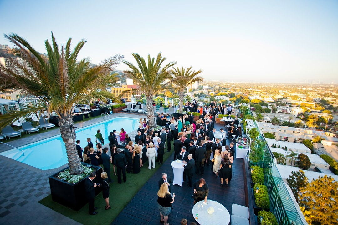 the london west hollywood la wedding venues