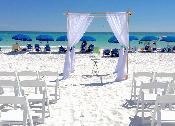vendors beach wedding