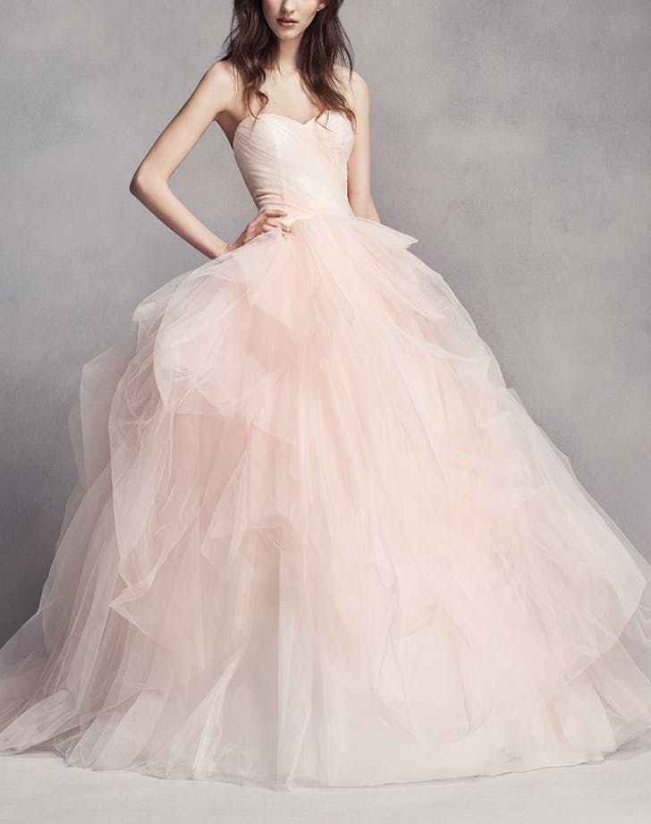 14 Non White Wedding Dresses For Traditional Brides