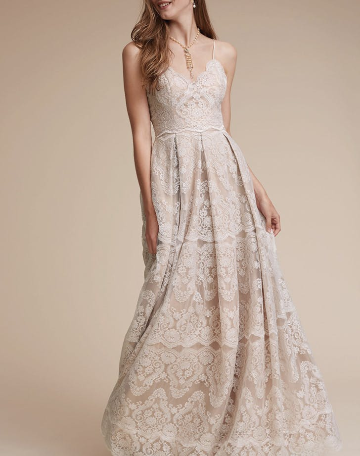 15 Non White Wedding Dresses For Non Traditional Brides