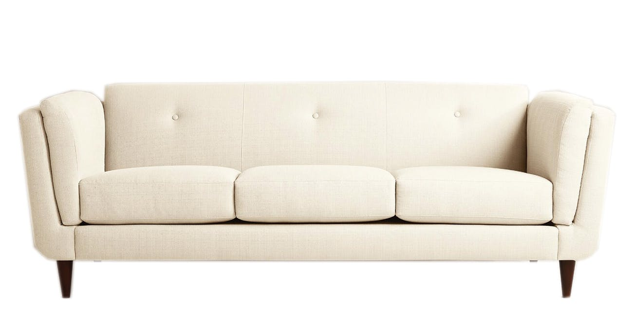 white couch large
