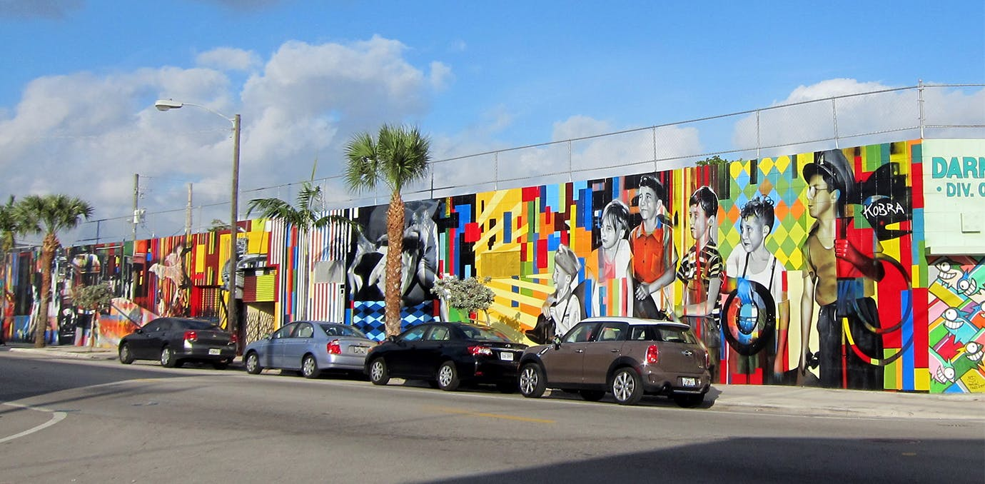 wynwood beautiful streets miami WIDE