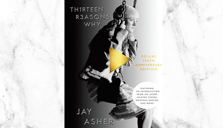 13 reasons why Netflix Book cover
