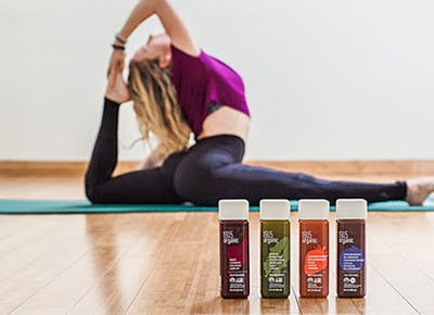 Get Grounded with a Free Yoga Class and an Organic Juice