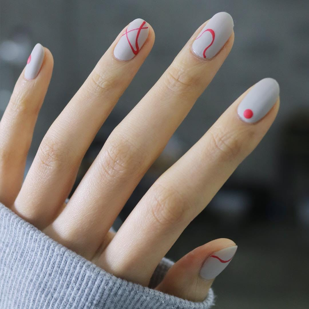 5 grown up nail art nailunistella