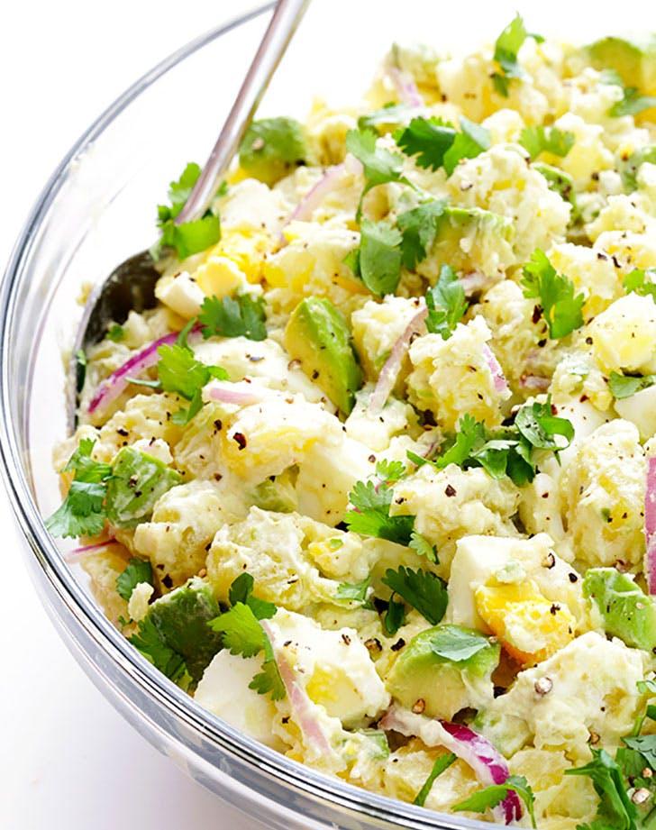 Avocado Potato Salad Gimme Some Oven