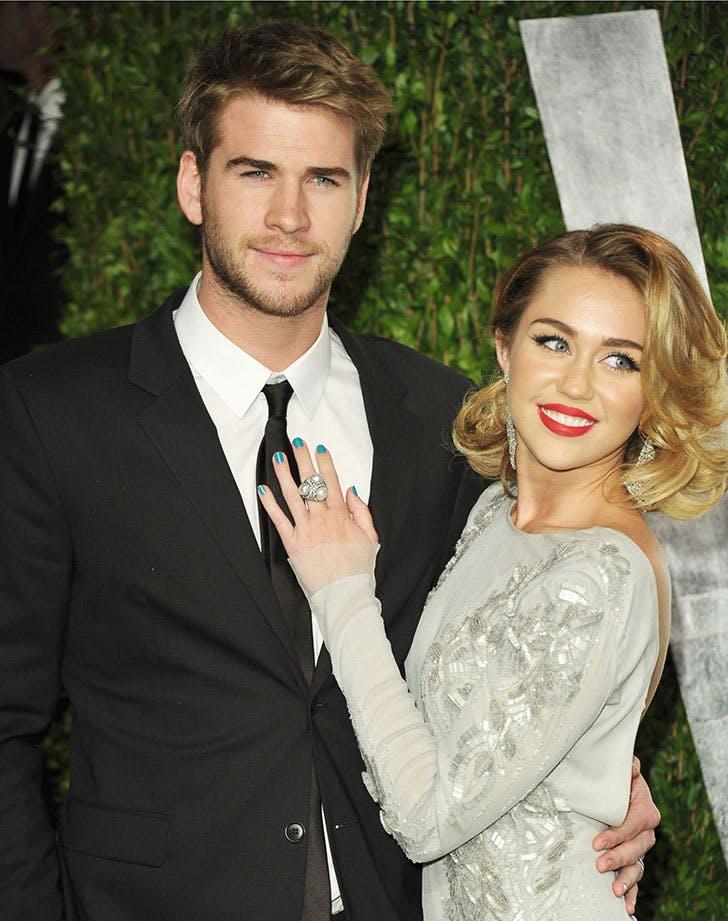Celebrity Vegetarians Miley Cyrus Liam Hemsworth