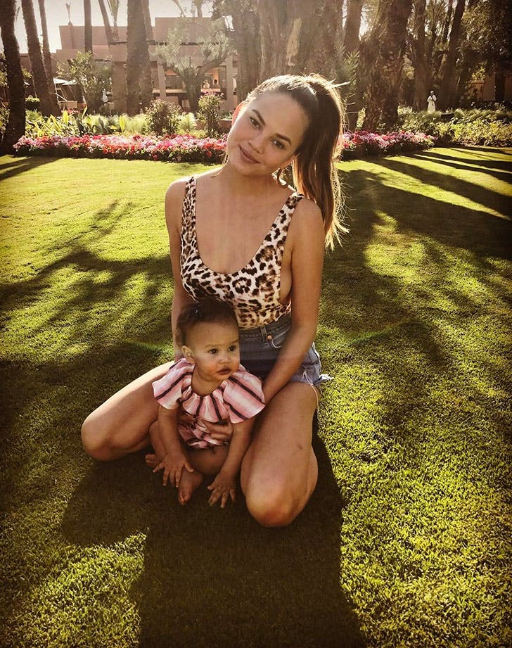 Chrissy Teigen Ready for Summer