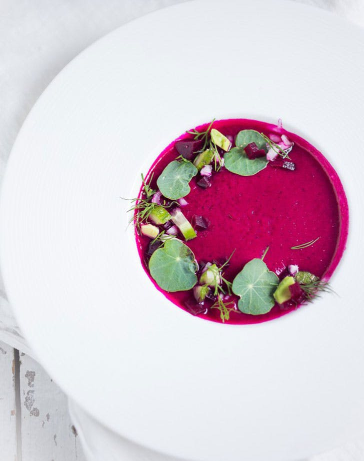 Feasting At Home Beet Gazpacho Recipe