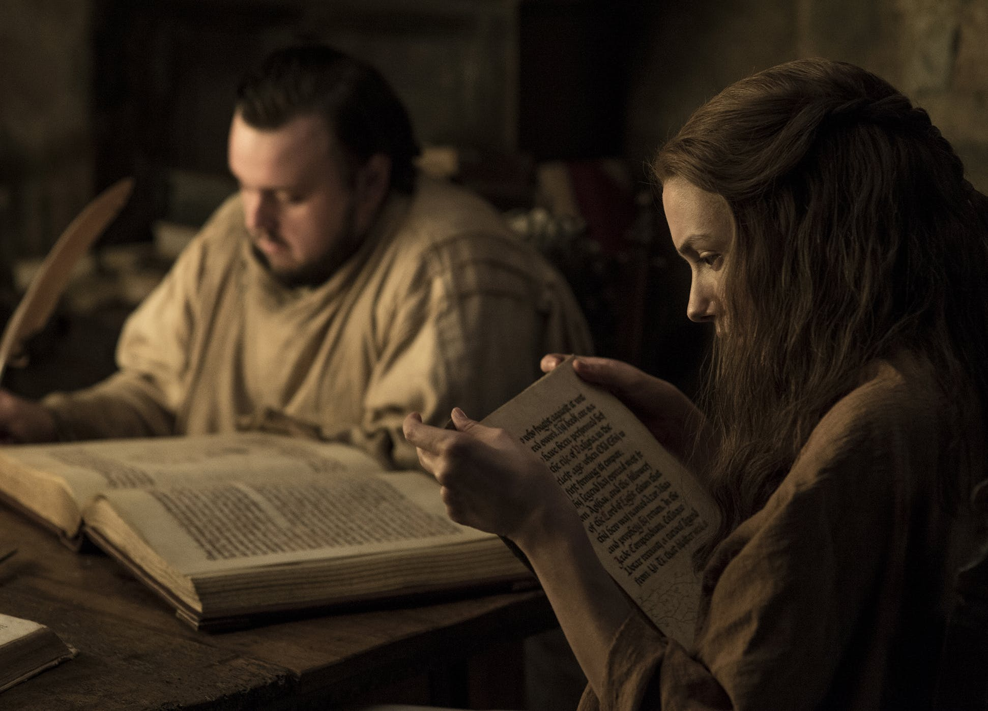 John Bradley Hannah Murray Game of thrones season 7