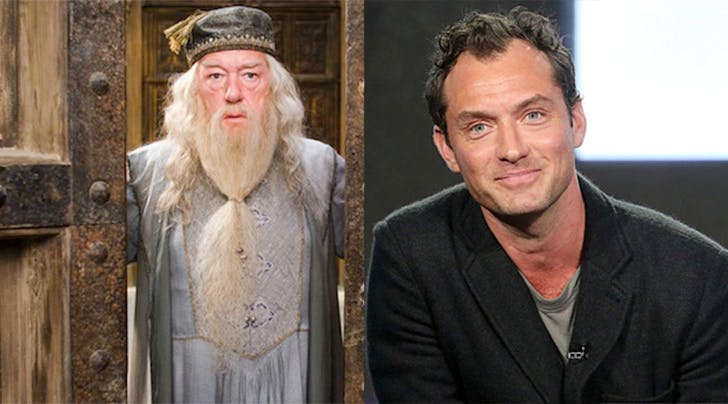 'Fantastic Beasts' Sequel Casts Jude Law as Dumbledore