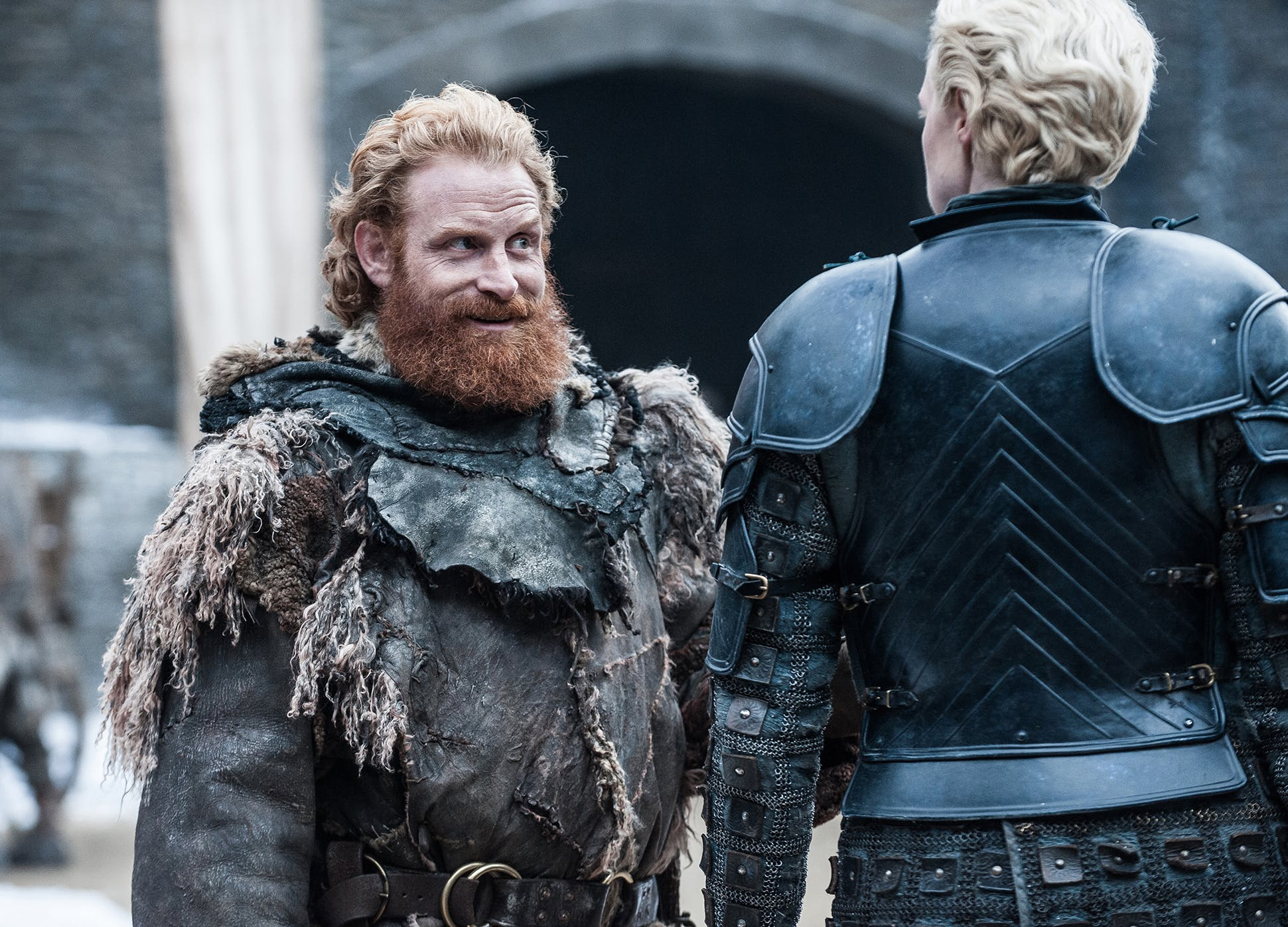 Kristofer Hivju Gwendoline Christie Game of thrones season 7