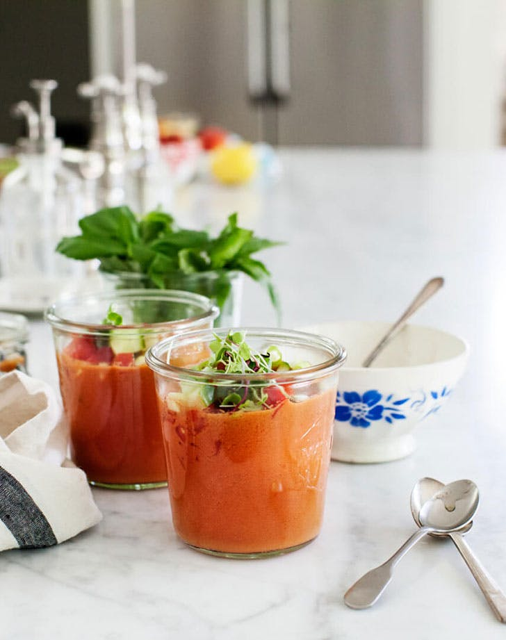 Love and Lemons Watermelon Gazpacho Recipe