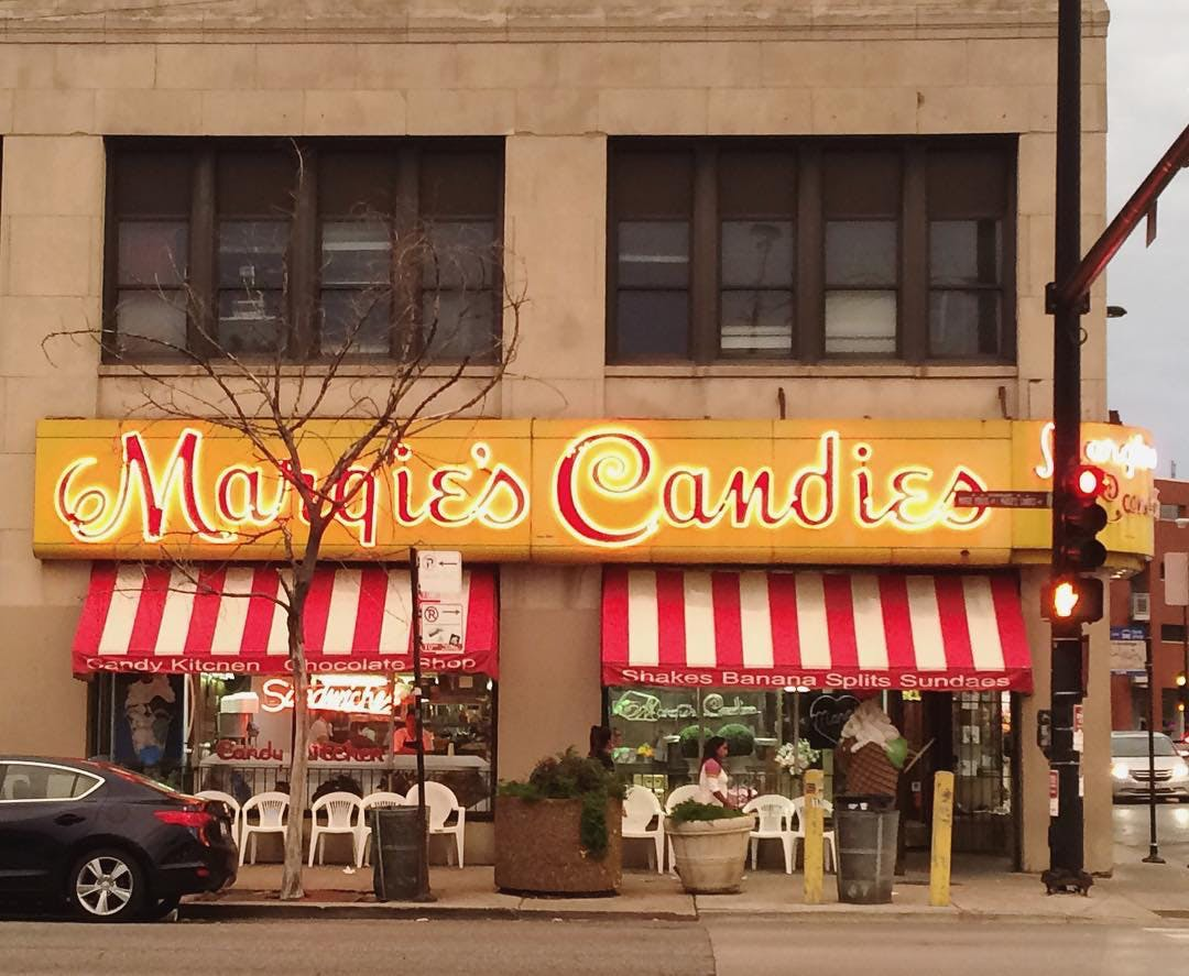 Margie s Candies chicago ice cream parlor