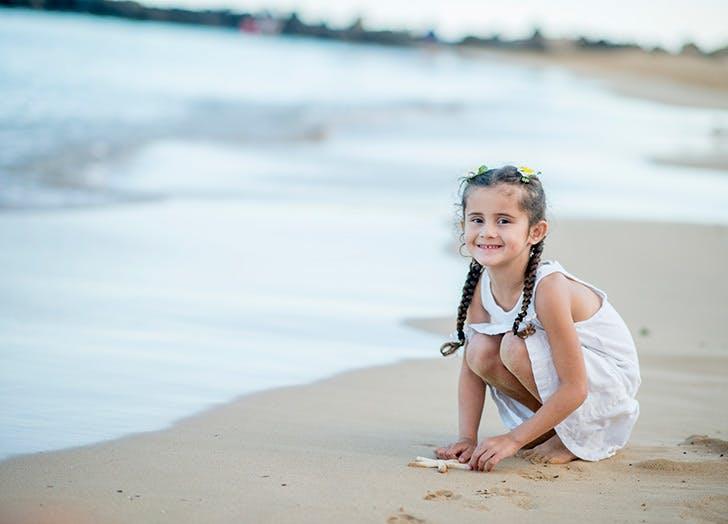 Polynesia child