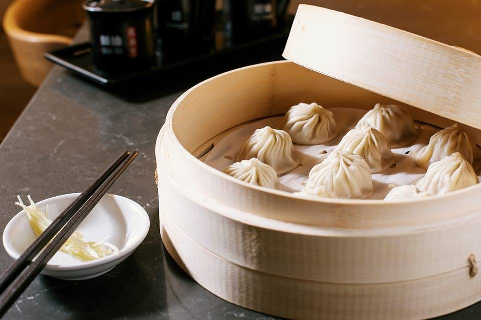 Soup Dumplings at Din Tai Fung los angeles iconic foods
