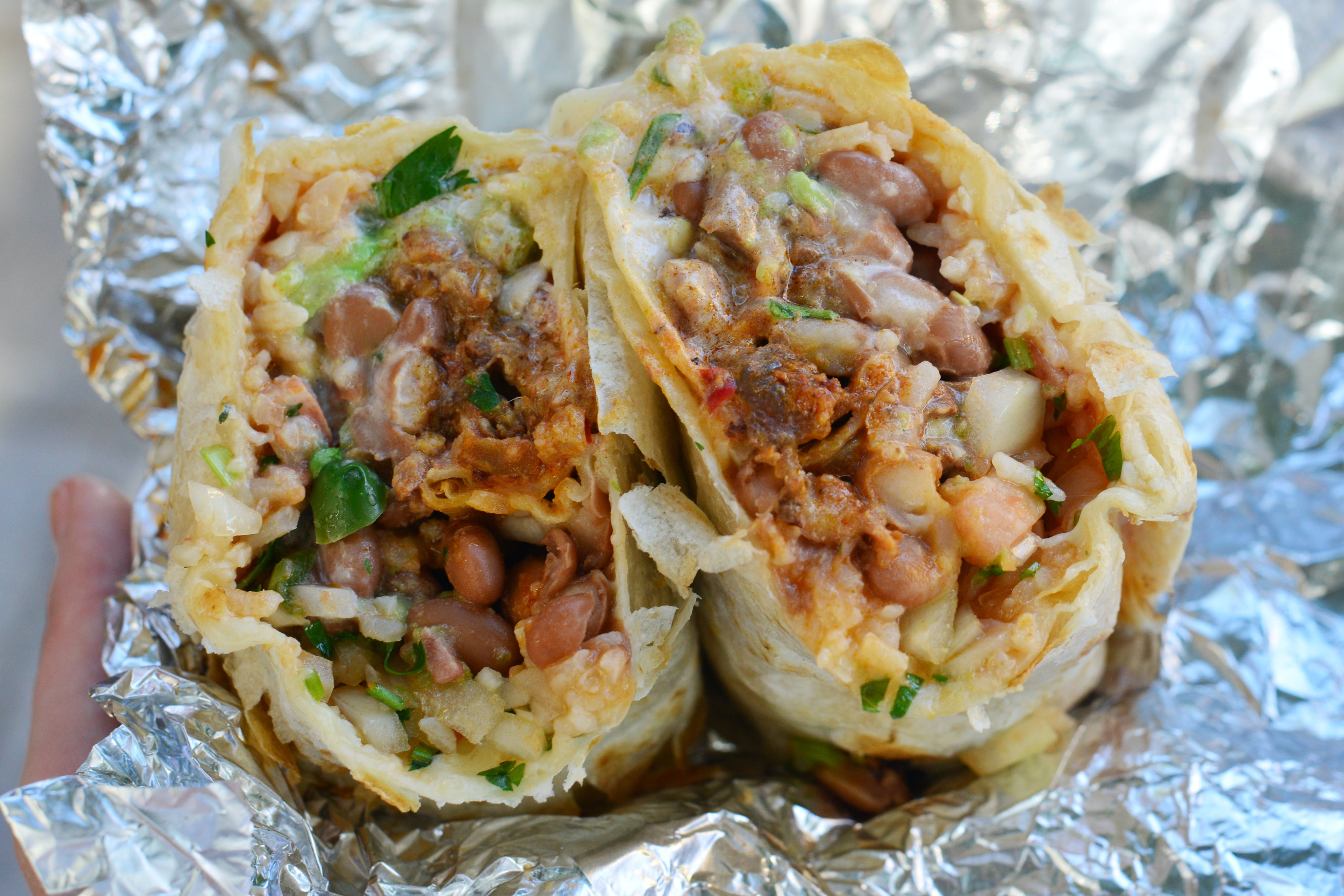 Taqueria Cancun Al Pastor Burrito san francisco cheap eats