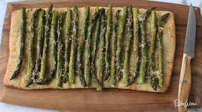 asparagus flatbread sf farmers market recipes