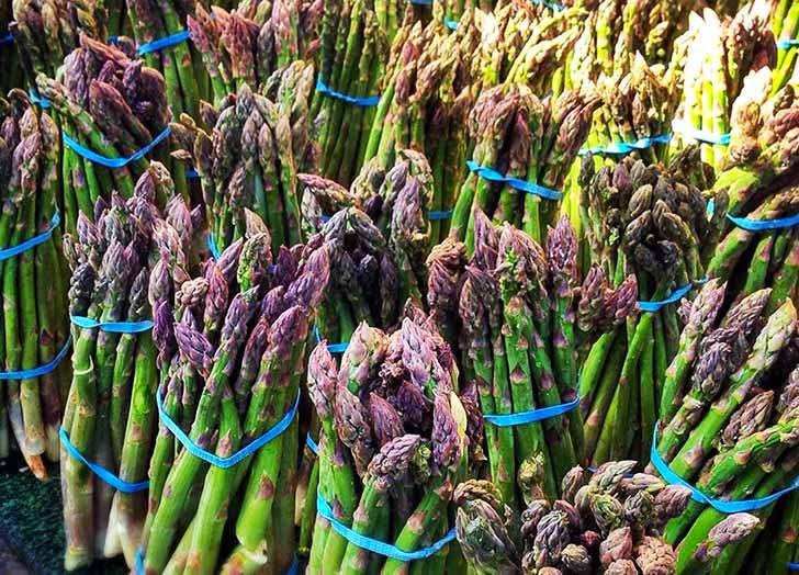 asparagus greenmarket NY