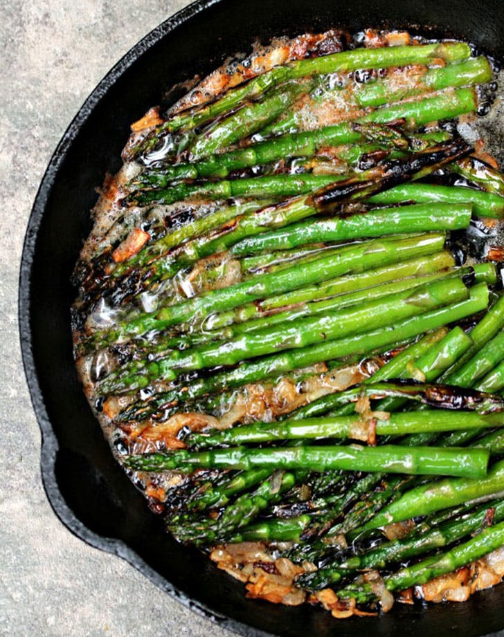 asparagus recipes brownbutter