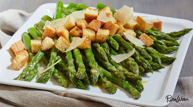 asparagus recipes caesarsalad