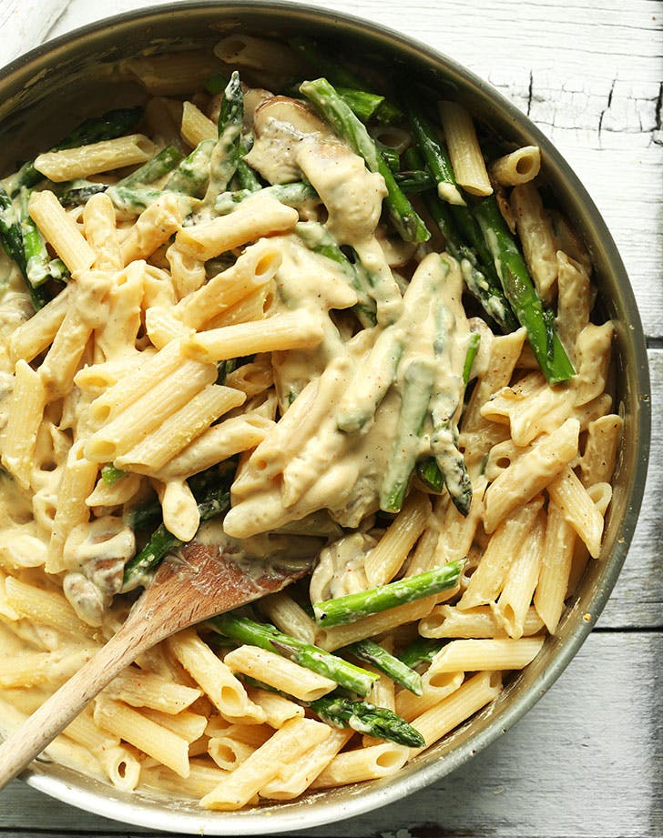 asparagus recipes creamypasta