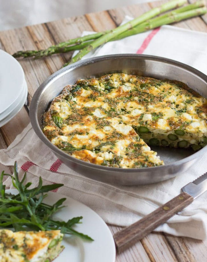 asparagus recipes frittata