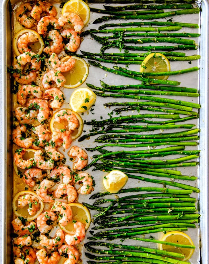 asparagus recipes garlicshrimp