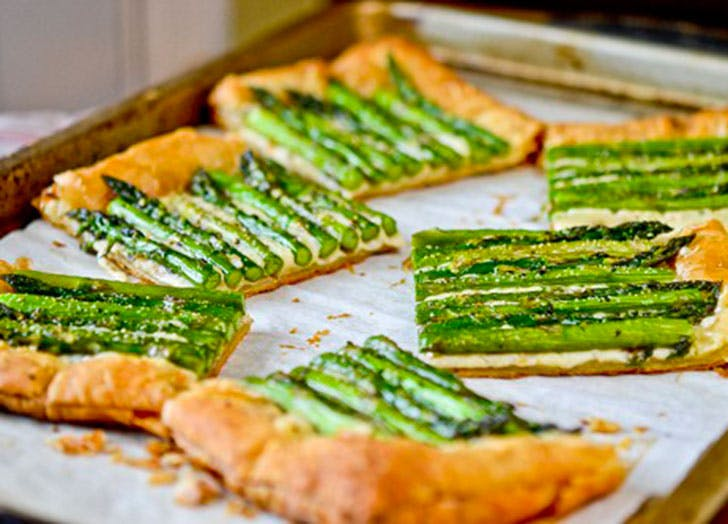 asparagus recipes gruyeretart