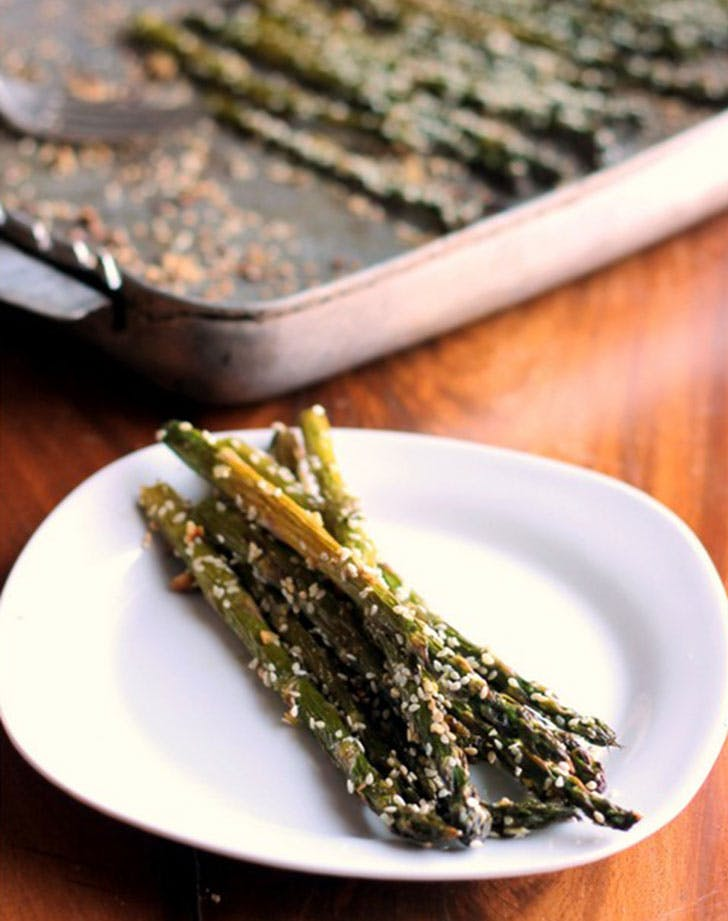 asparagus recipes sesameroasted