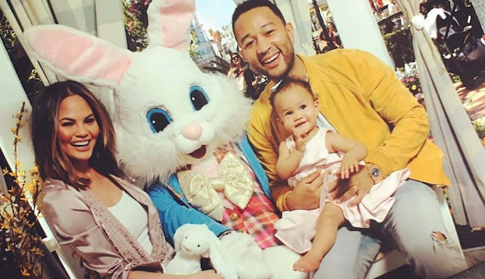baby luna easter bunny