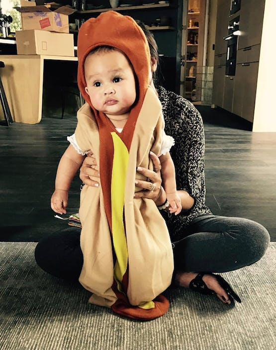 baby luna legend hotdog costume list