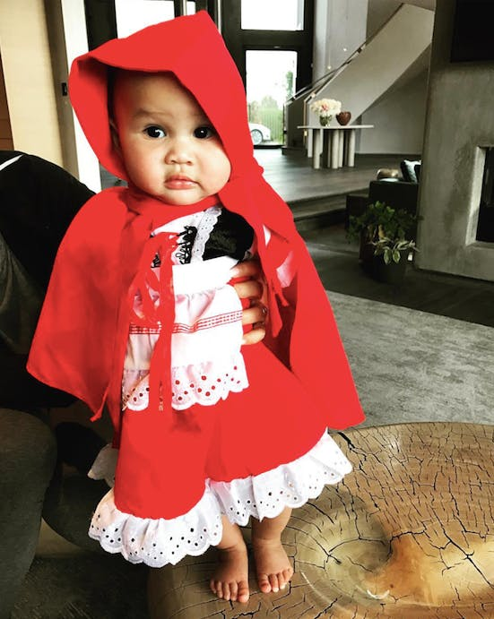 baby luna little red riding hood