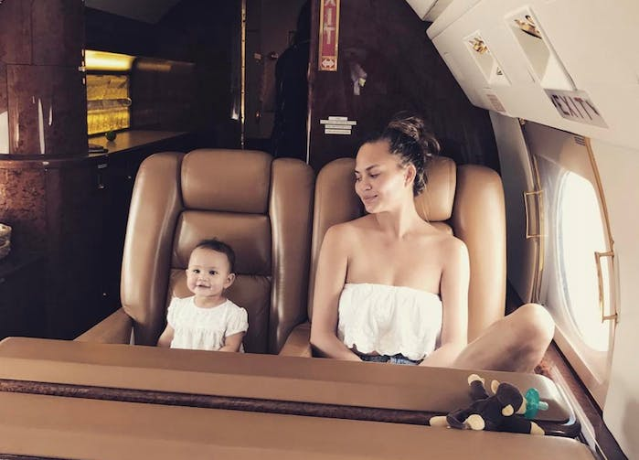 baby luna private plane