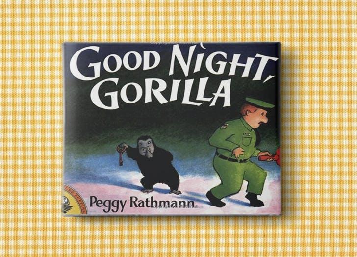 baby books gorilla