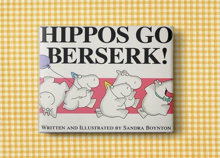 baby books hippos