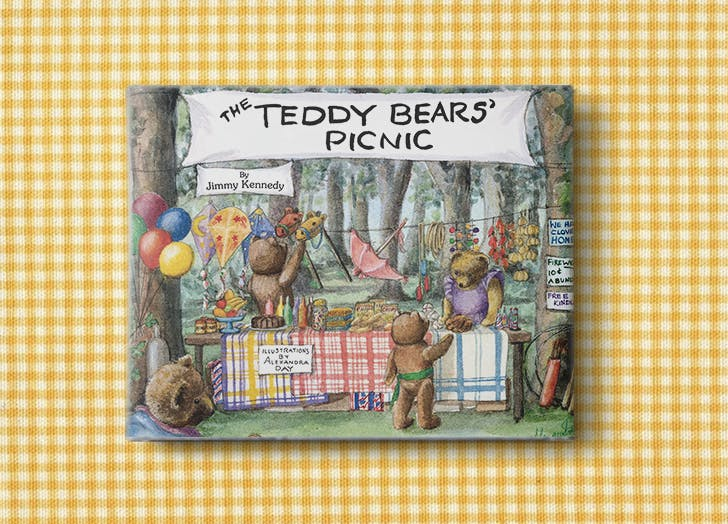 baby books teddy