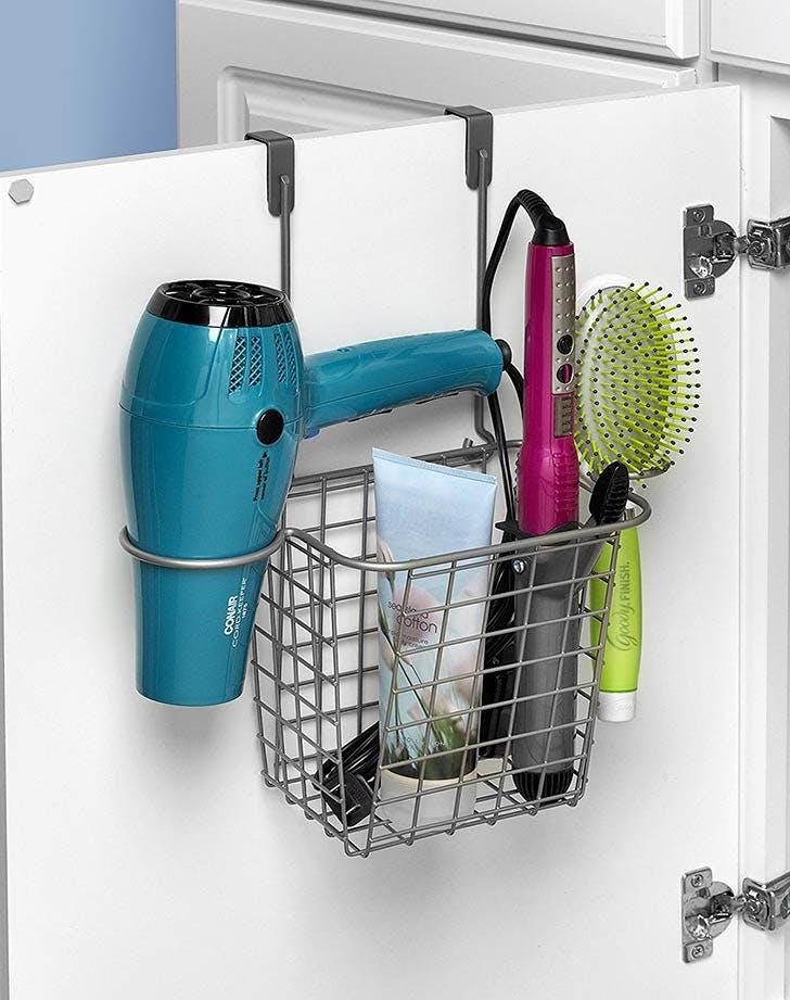 bathroom cabinet basket organization NY