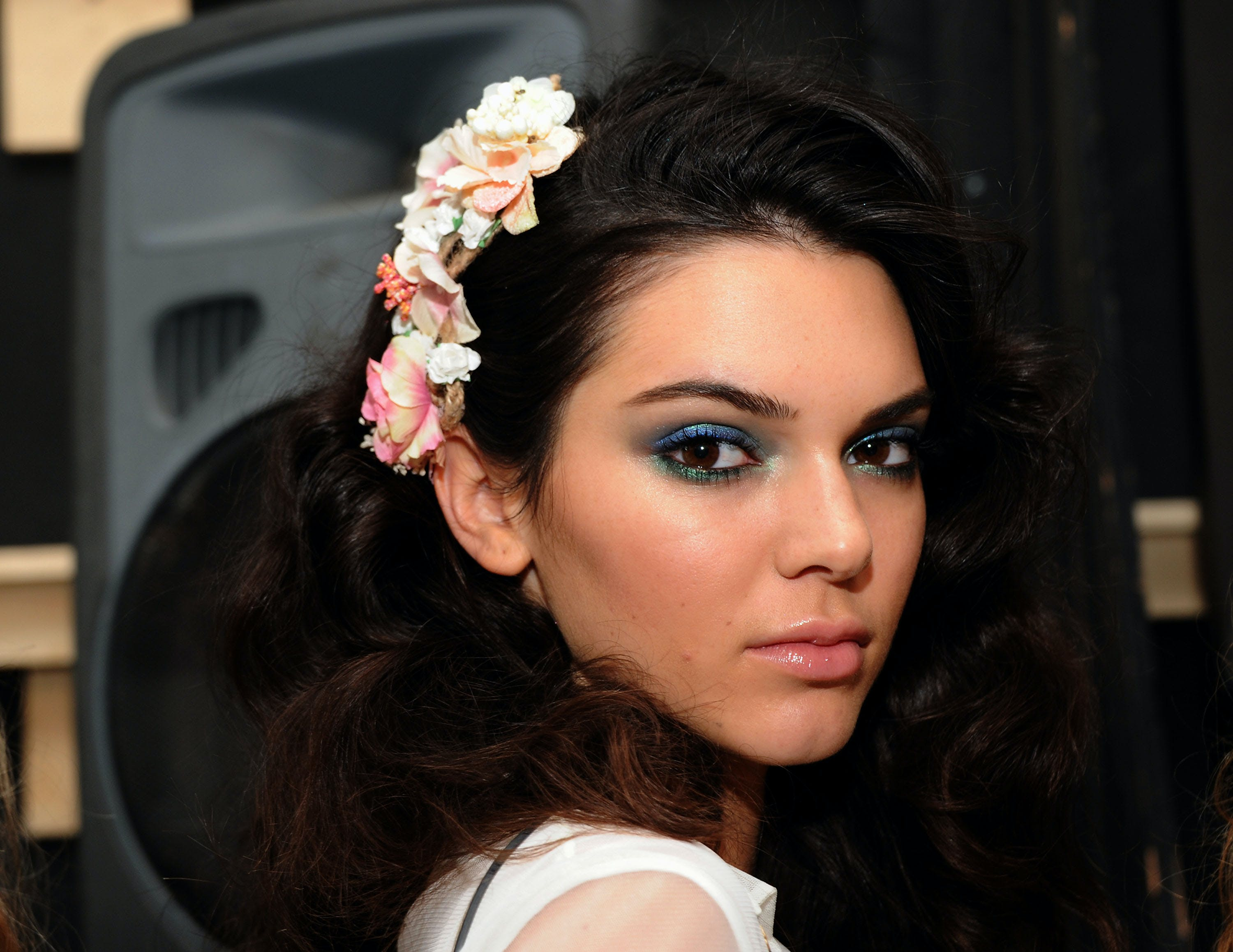 blue green eyeshadow summer wedding beauty