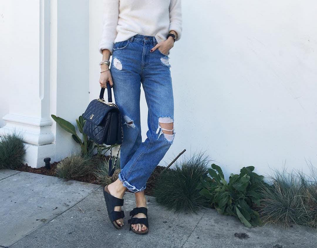 boyfriend jeans san francisco wardrobe staples