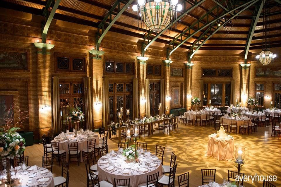 The 10 most beautiful wedding venues in chicago purewow caf brauer junglespirit Gallery