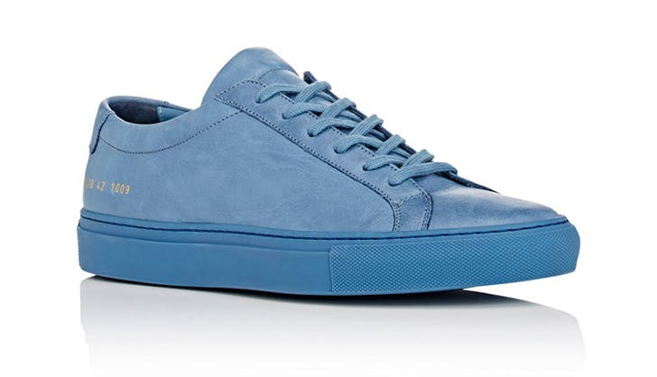 common projects pastel sneakers chicago spring shoe trends