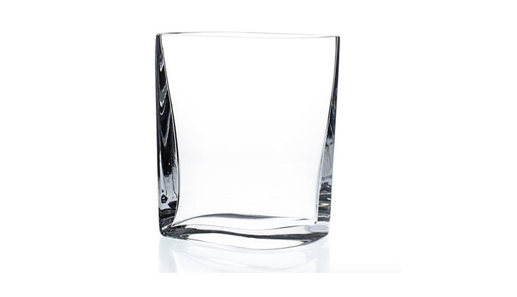 crystal vase home decor