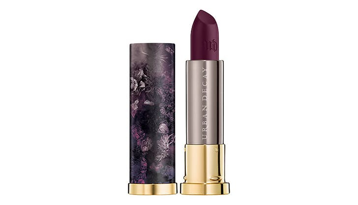 deep violet lip color