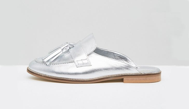 dune london asos loafer slides chicago spring shoe trends
